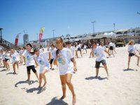 נלחמים בסרטן העור בהפנינג ״החוף הבריא״