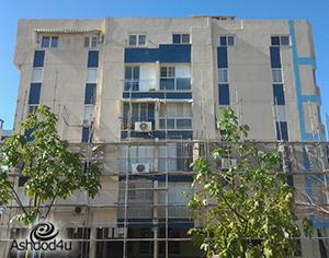 סיוע ומענק לשיפוץ חזית בנייני בתים משותפים באשדוד