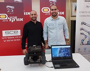 שני בוגרי SCE אשדוד ייצגו את המכללה והעיר בתצוגה האוטונומית של ענקית התוכנה אורקל