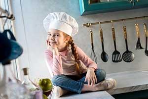 מטבחים לילדים יצירתיים יותר