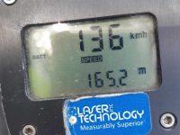 צעיר אשדודי נתפס הבוקר כשהוא נוהג בעיר במהירות 136 קמ״ש