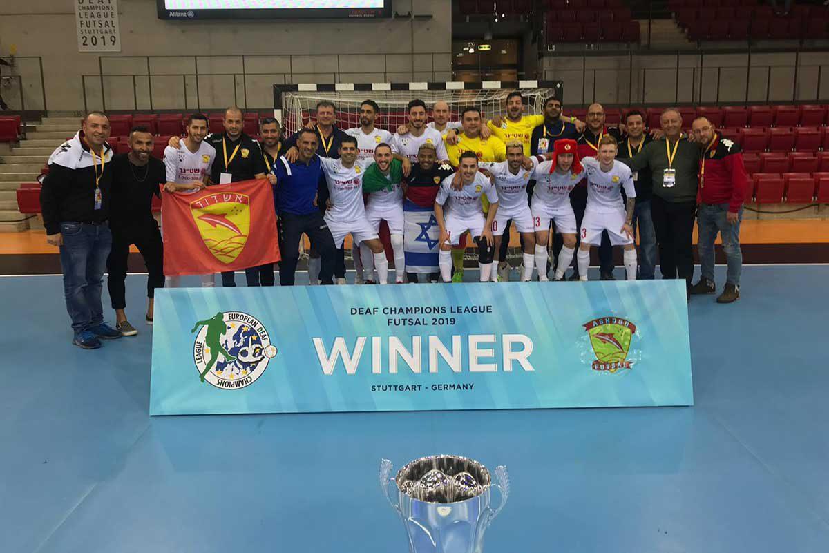 הדולפינים זכו באליפות אירופה בפעם השניה