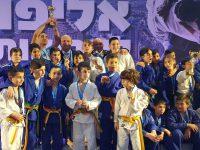 אשדוד חגגה על הפודיום באליפות ישראל בג׳ודו