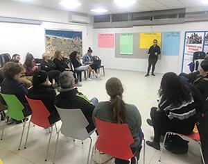 מפגש משותף של תנועות הנוער עם הורים לילדים עם צרכים מיוחדים