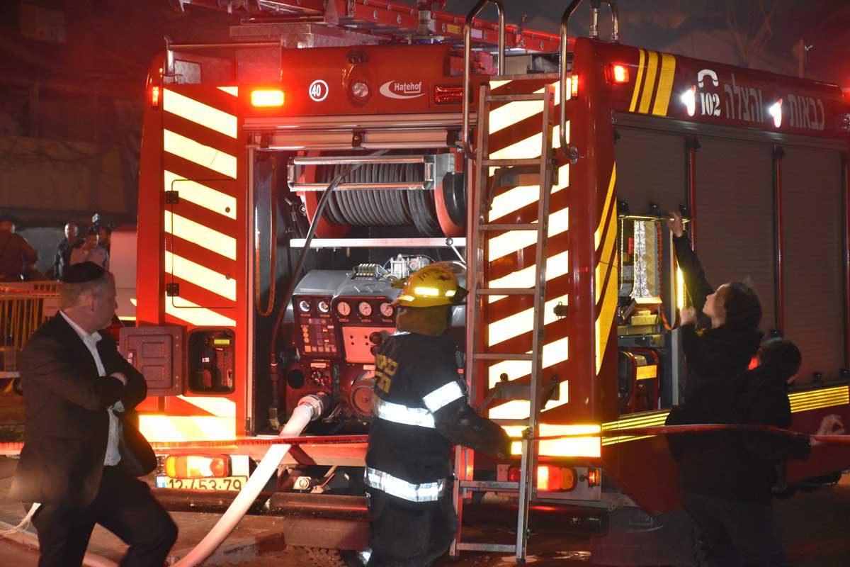שריפה במלון לאונרדו