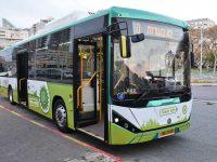 עד סוף השנה יתווספו עוד 50 אוטובוסים חשמליים