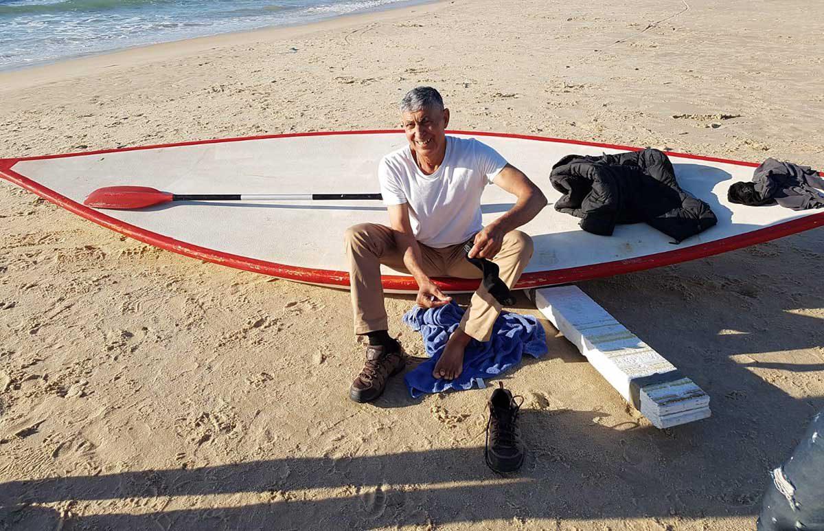 הצלת העונה – המציל צ׳ארלי רימון מציל חיים בחוף הדתי