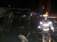 שריפת שדה קוצים ברובע יז׳ סיכנו את מקיף יא׳