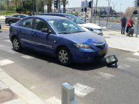 רוכבת קורקינט חשמלי בת 24 נפגעה בתאונה