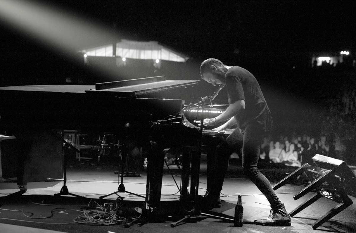 שלומי שבן והפסנתר בבית אריה קלנג