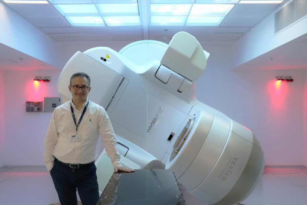 נפתח מכון הרדיותרפיה (טיפול קרינתי) באסותא