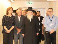 סגן שר הבריאות ביקר בבית החולים אסותא אשדוד