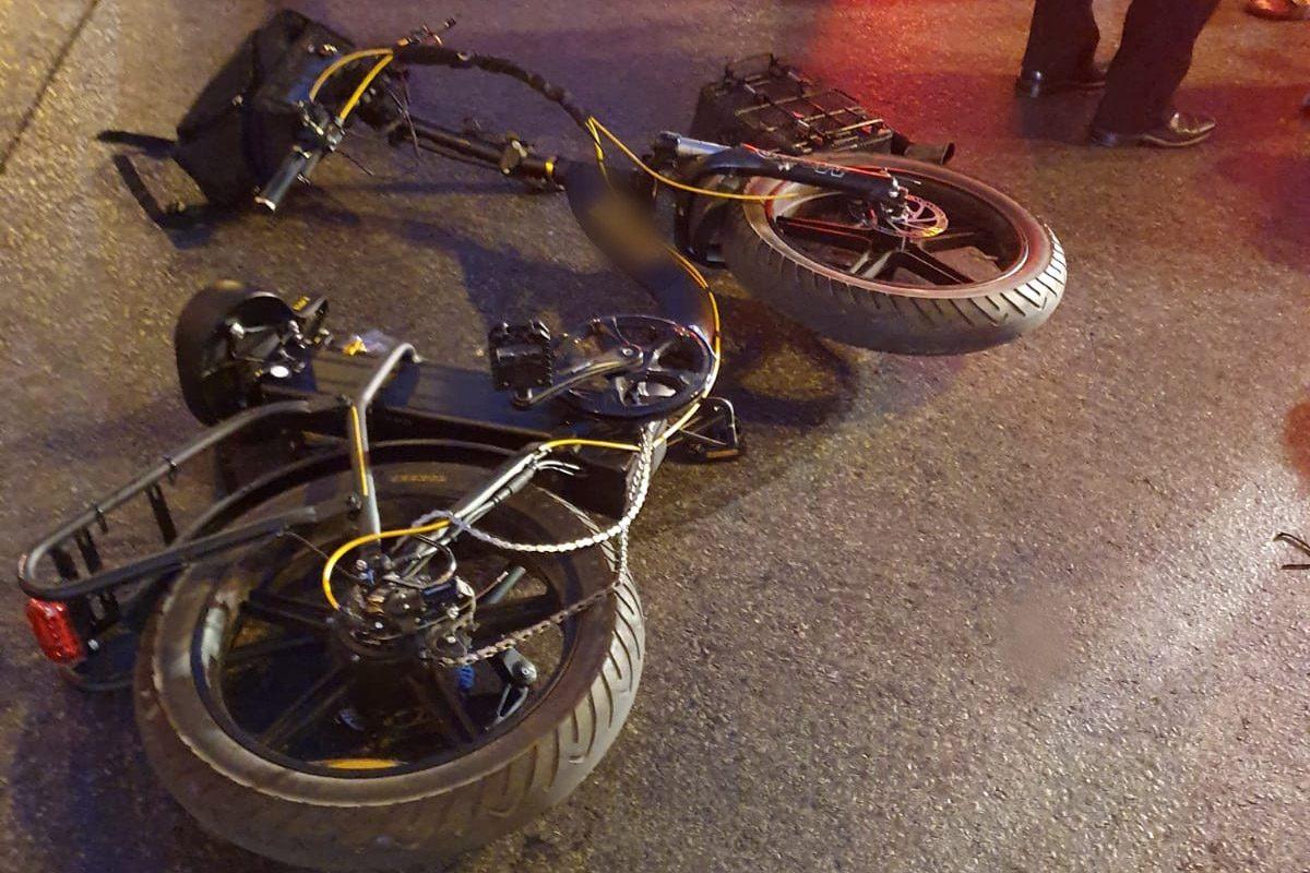 רוכב אופניים חשמליים נפצע בינוני עד קשה בתאונה באשדוד