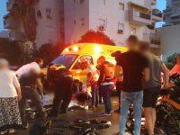 מכת האופניים החשמליים: פצוע קשה בתאונה ברח׳ הציונות