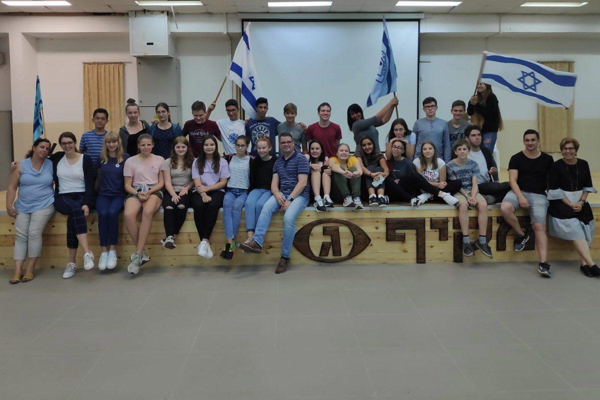 משלחת חילופי נוער מקיף ג׳ אשדוד