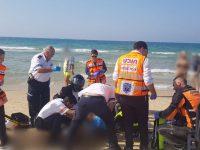 בן ה- 70 שנמשה בחוף אורנים נפטר באסותא