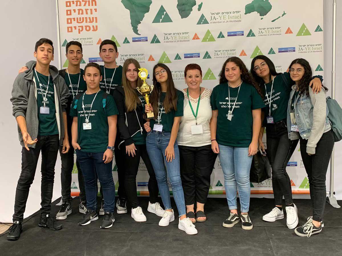 צעירים במקיף ז׳ חולמים, יוזמים ועושים עסקים.