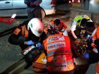 בן 25 נפל ממשאית לאיסוף אשפה