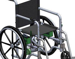 SCE מציג: תוסף שיהפוך כל כיסא גלגלים לחשמלי