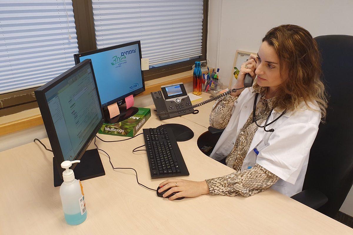רופאים של מכבי באשדוד החלו להעניק ייעוץ מקצועי טלפוני למטופלים