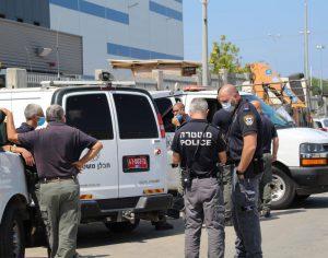משטרת ישראל עצרה חשוד בהובלה והנחת מטען חבלה,