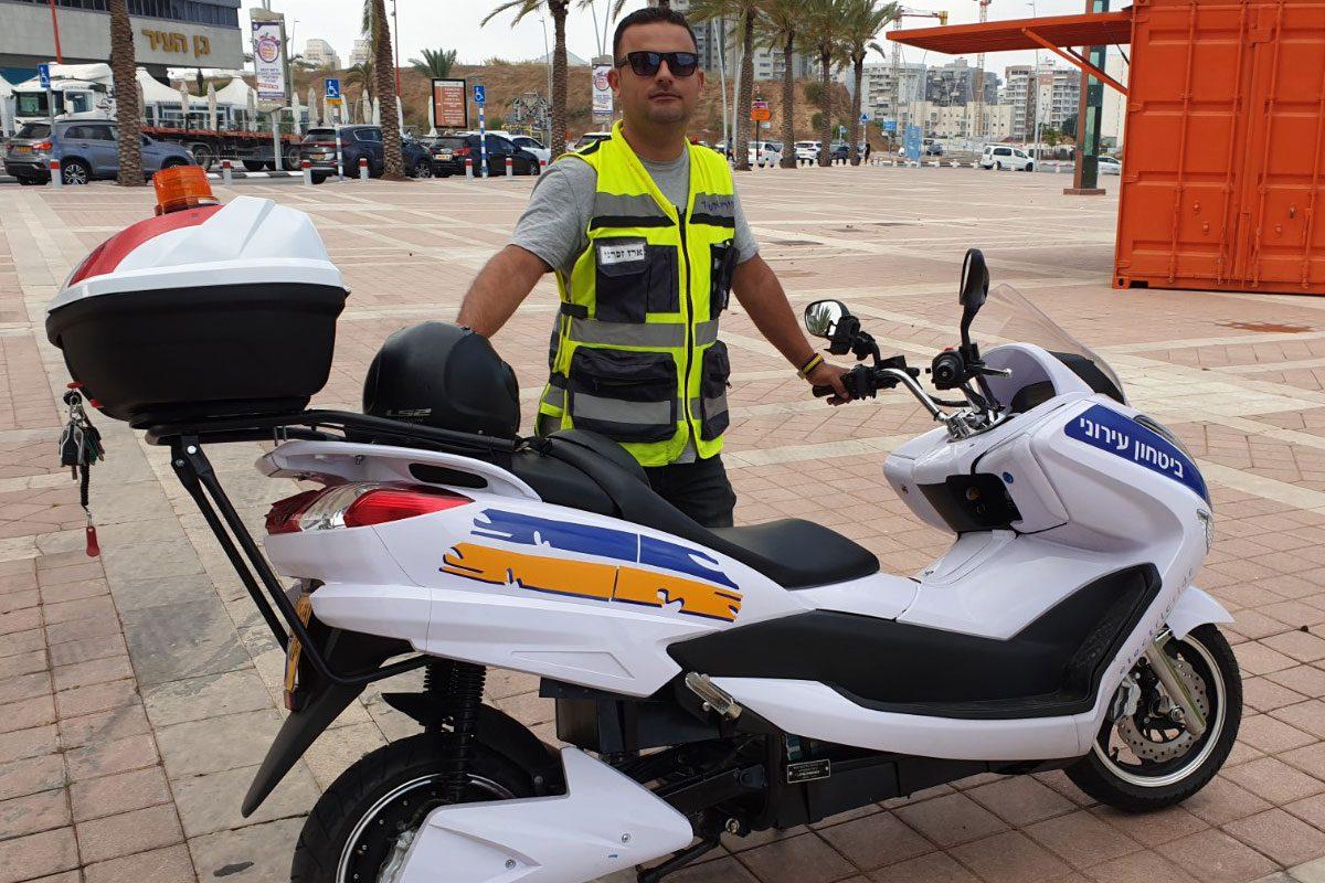 העירייה התחדשה בקטנועים חשמליים