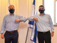 """שר החוץ, רא""""ל גבי אשכנזי ביקר באשדוד"""