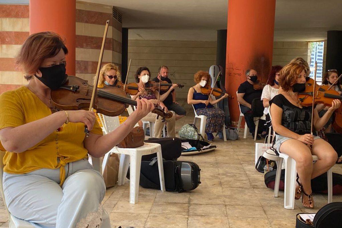 """נגני התזמורת האנדלוסית ב""""דיאלוג מוזיקלי בין תרבותי"""""""