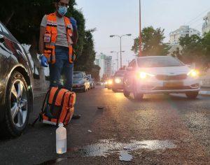 בן 70 נפצע קשה כתוצאה מפגיעת רכב באשדוד