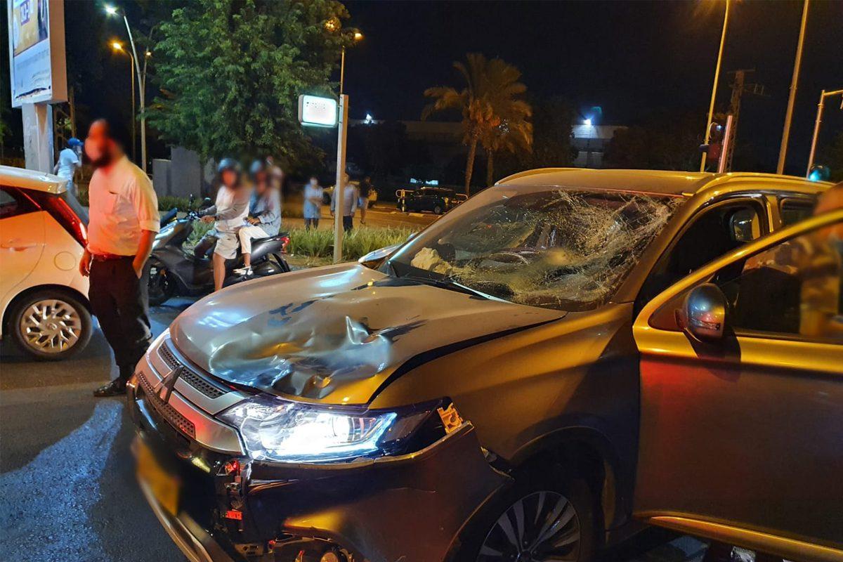 בן 35 שרכב על אופניים נפגע בראשו בתאונה באשדוד