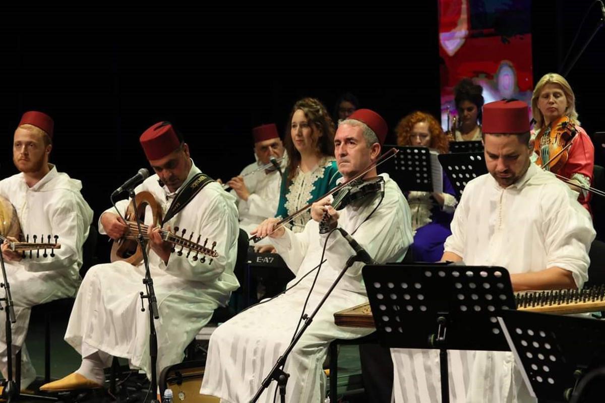 התזמורת האנדלוסית הישראלית אשדוד בקונצרט מימונה מיוחד