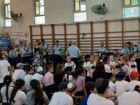 ביקור התזמורת בבית הספר