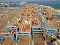 """מגן """"עמית תעשייה"""" הוענק לנמל אשדוד על 15 שנות זכייה רצופה"""