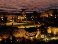 שלישי בשקיעה במצודת אשדוד ים