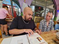 גל זהבי נבחר לצלם את תפריט הקיץ של מסעדת פטרה