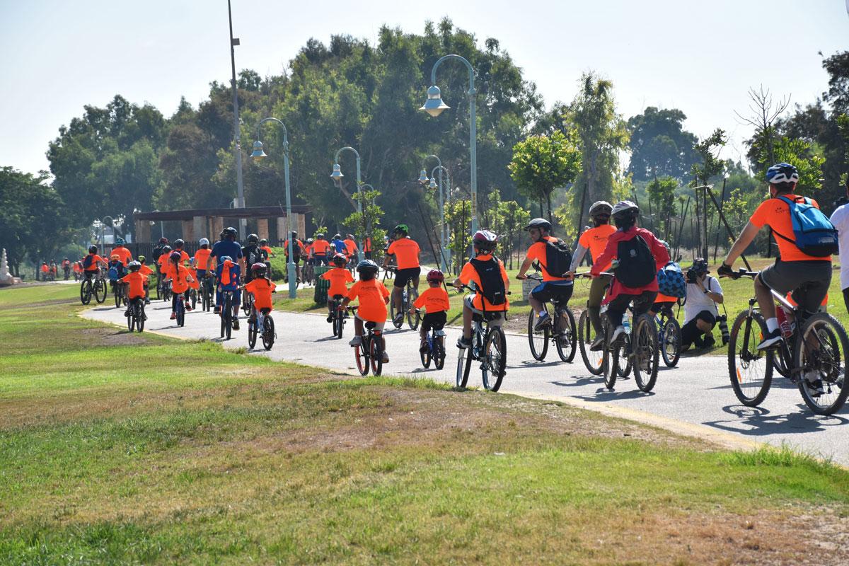 מסע אופניים עממי 2021 – הפנינג משפחות