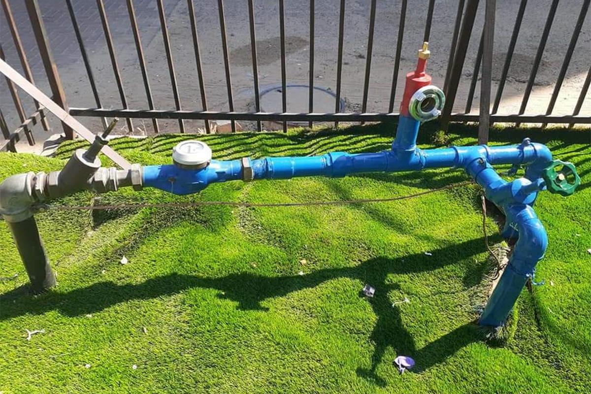 טיפול יסודי בצנרת המים