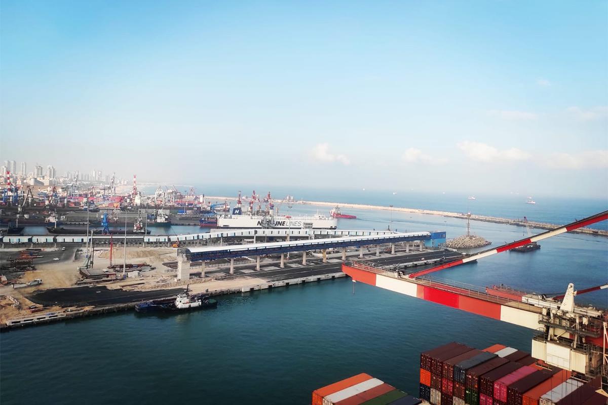 למעלה מ-300 עובדים מתנדבים באופן קבוע בנמל אשדוד